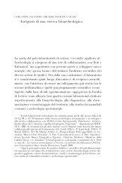 Autopsia di una ricerca bioarcheologica - Istituto Universitario Suor ...