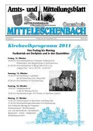 Region Hesselberg - Kommunale Allianz - Mitteleschenbach