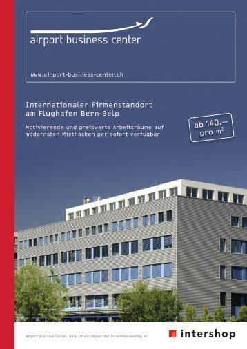Prospekt PDF - Bucca.ch