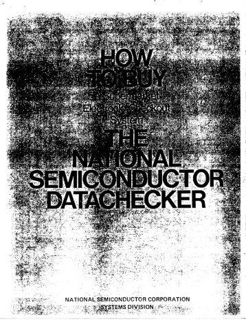 "Datachecker Marketing Document ""How to Buy a Supermarket"