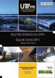 Guia de Cursos 2011 - UTFPR