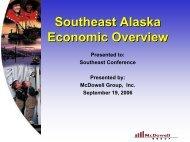 Southeast Alaska Economic Overview - Southeast Conference