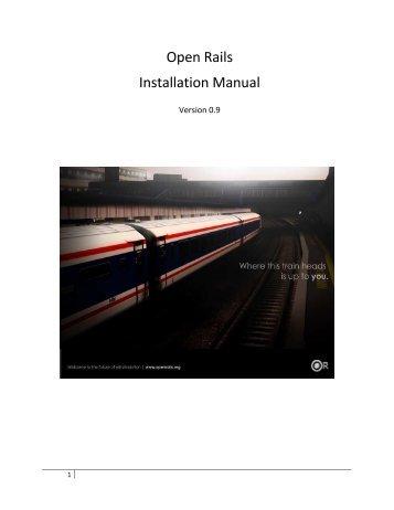 Installation Guide - Open Rails