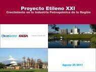 Proyecto EXXI - Asociación Nacional de la Industria Química