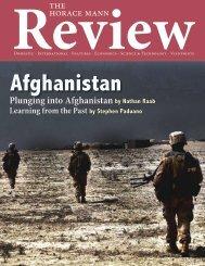 the horace mann Plunging into Afghanistan - Horace Mann School