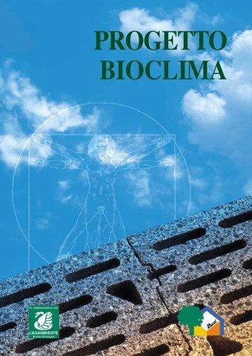Scarica PROGETTO BIOCLIMA - Edilio