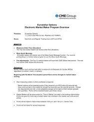 Eurodollar Options Electronic Market Maker Program ... - CME Group