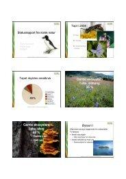 Aanderaa,R Statusrapport fra norsk natur .pdf - FAGUS