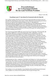 entsprechende Pressemitteilung des Gerichts - Alternative ...