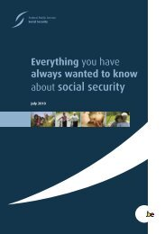 Everything you have always wanted to know about social security