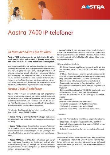 Aastra 7434 IP - TeleBolaget