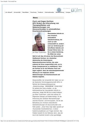 2013 - Fluch und Segen Kortison - Immunobone