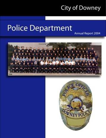 Police Department - City of Downey