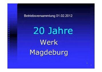 Präsentation - Schaeffler-Nachrichten der IG Metall: Startseite