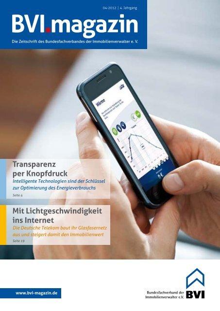 Stichtag: 3. September 2012 - BVI Magazin