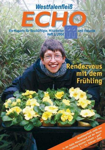 ECHO 1 / 2004 - Westfalenfleiß