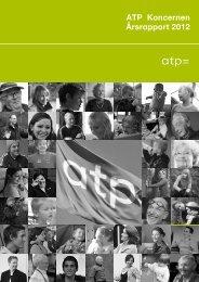 ATP Koncernen Årsrapport 2012