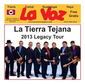 La Voz Guadalupe County April 2013 inter.pmd - La Voz Newspapers