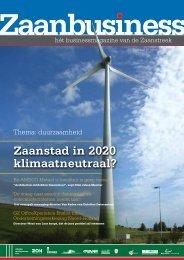 Zaanstad in 2020 klimaatneutraal? - Zaanbusiness