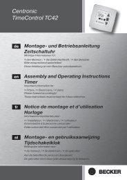 Notice Becker TC42.pdf - Domodiscount.com