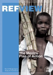 Refview: The Mexico Plan of Action - Acnur