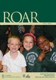 ROAR Fall 2012 - St. John's International School