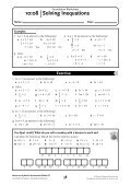 NSM 8 Student CD/Foundation Worksheet 10 - Pearson Australia ... - Page 7