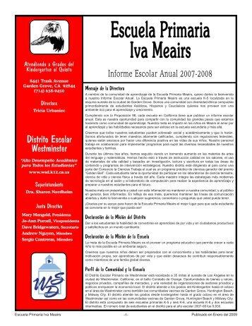 Escuela Primaria Iva Meairs - Axiomadvisors.net