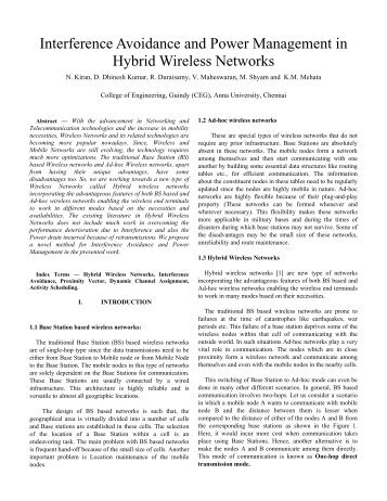 Interference Avoidance and Power Management in Hybrid ... - HiPC