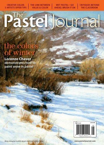 Pastel Journal December 2011 Sample - Artist's Network