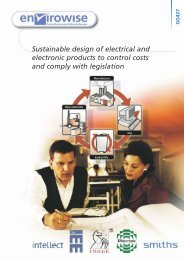 Sustainable design of electrical and electronic products to