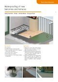 WATERPROOFING SYSTEMS - Page 7