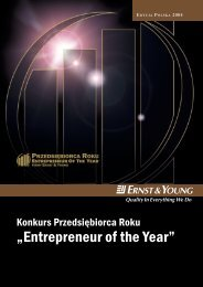 """""""Entrepreneur of the Year"""" - Ernst & Young"""