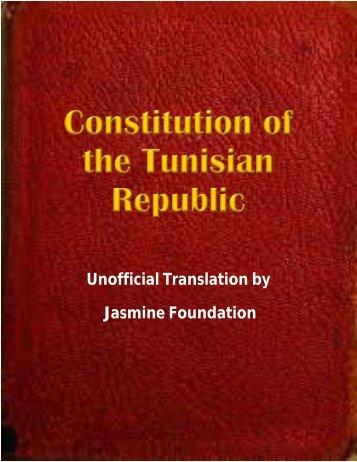 Unofficial English Eranslation of Tunisian Constitution