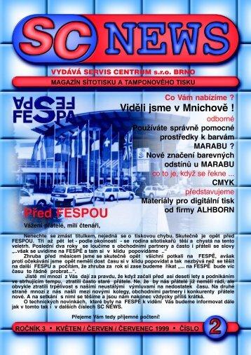 SC 1999 / 2 - SERVIS CENTRUM a. s.