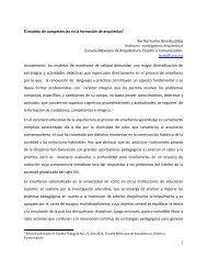 Modelo competencias_formacion arquitectos - Facultad Mexicana ...