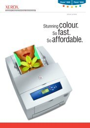Xerox - Phaser® 8500 / 8550 Colour Printers