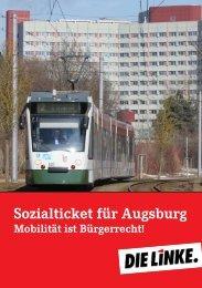 Sozialticket für Augsburg - DIE LINKE. Alexander Süßmair, MdB