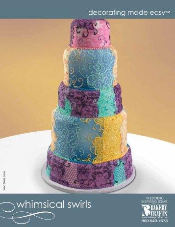 whimsical swirls - Bakery Crafts