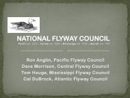 national flyway council - Association of Fish and Wildlife Agencies