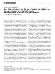 Uso dos antagonistas da aldosterona no tratamento da hipertensão ...