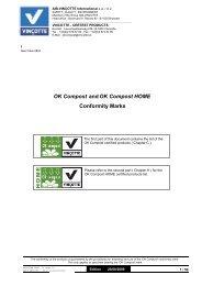 OK Compost OK Compost HOME and Conformity Marks - Vinçotte