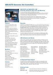 GEN-AUTO Generator Set Controllers - Crompton Western Canada ...