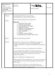 Referat juni 2012 - Københavns Tekniske Skole