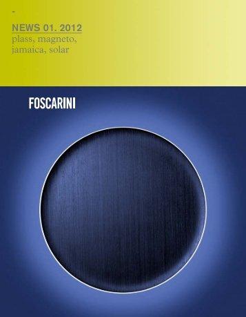 - NEWS 01. 2012 plass, magneto, jamaica, solar - Foscarini