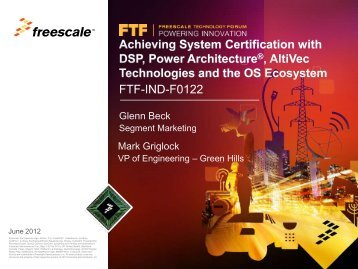"""""""shares"""" something (eg Connection, Link) - Freescale"""