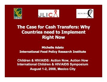The Case for Cash Transfers: Why Countries need to Implement ...