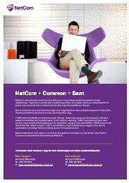 NetCom + Common = Sant - LSBG