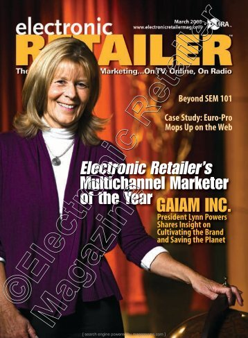 March 2008 - Electronic Retailer Magazine
