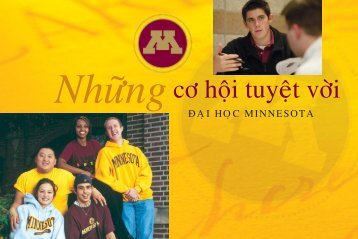 Multicultural broch-VIET.indd - University of Minnesota